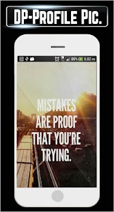 DP Display Pictures Life Quotes Motivational GM - náhled
