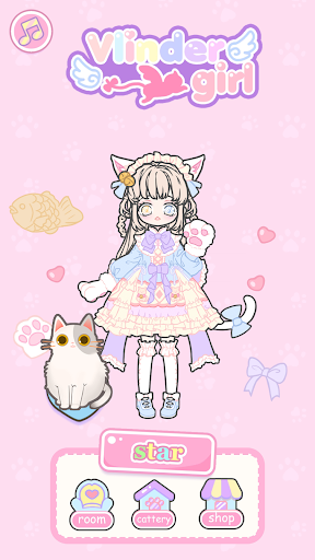 Vlinder Girl - Dress up Games , Avatar Creator screenshots 2