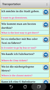 German phrasebook and phrases for the traveler - náhled