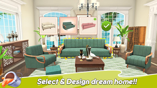 Home Paint: Color by Number & My Dream Home Design android2mod screenshots 1