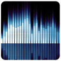 Mp3 player with equalizer icon