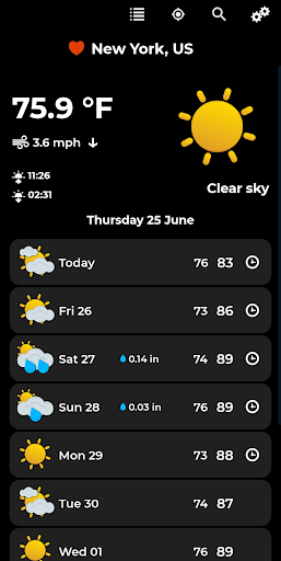 Weather Forecast Apk 2