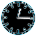 Glowing Neon Clocks - FREE icon