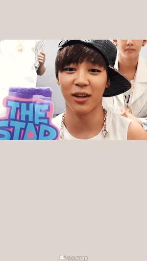 BTS jimin ライブ•壁紙1