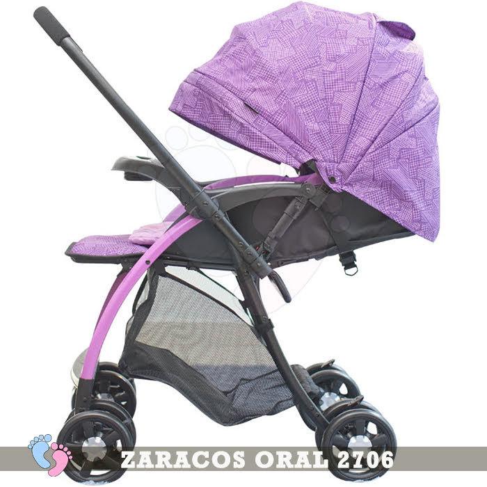 Xe đẩy trẻ em 2 chiều Zaracos Maxell 2606 4