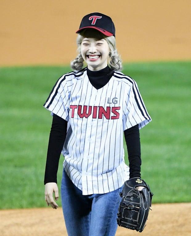 Dahyun-Smiling-After-Pitch