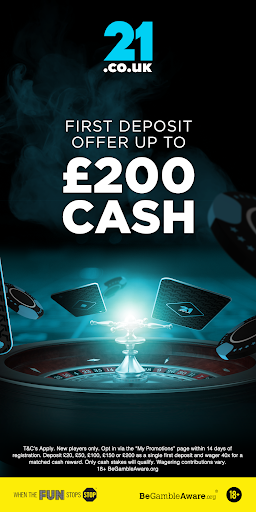 21.co.uk Online Casino, Real Money Slots & Betting 1.7.4 screenshots 1