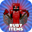 Ruby Mod for Minecraft PE icon