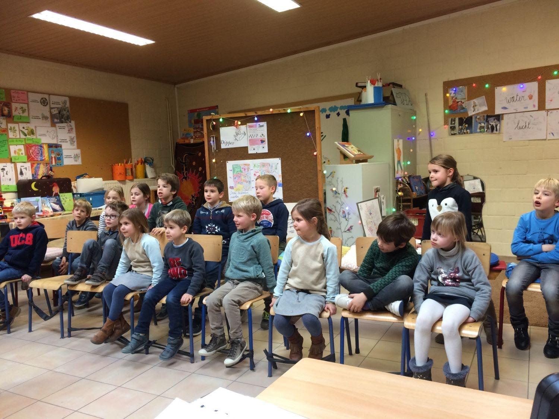 Muziekles: lied leren