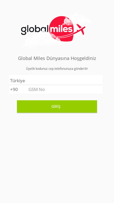Globalmiles- screenshot