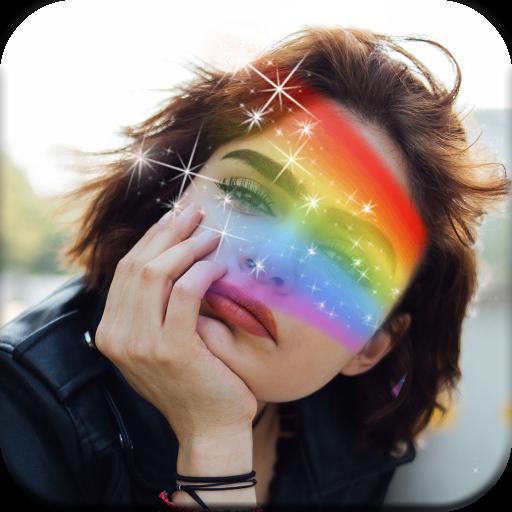 Rainbow Photo Blender Icon
