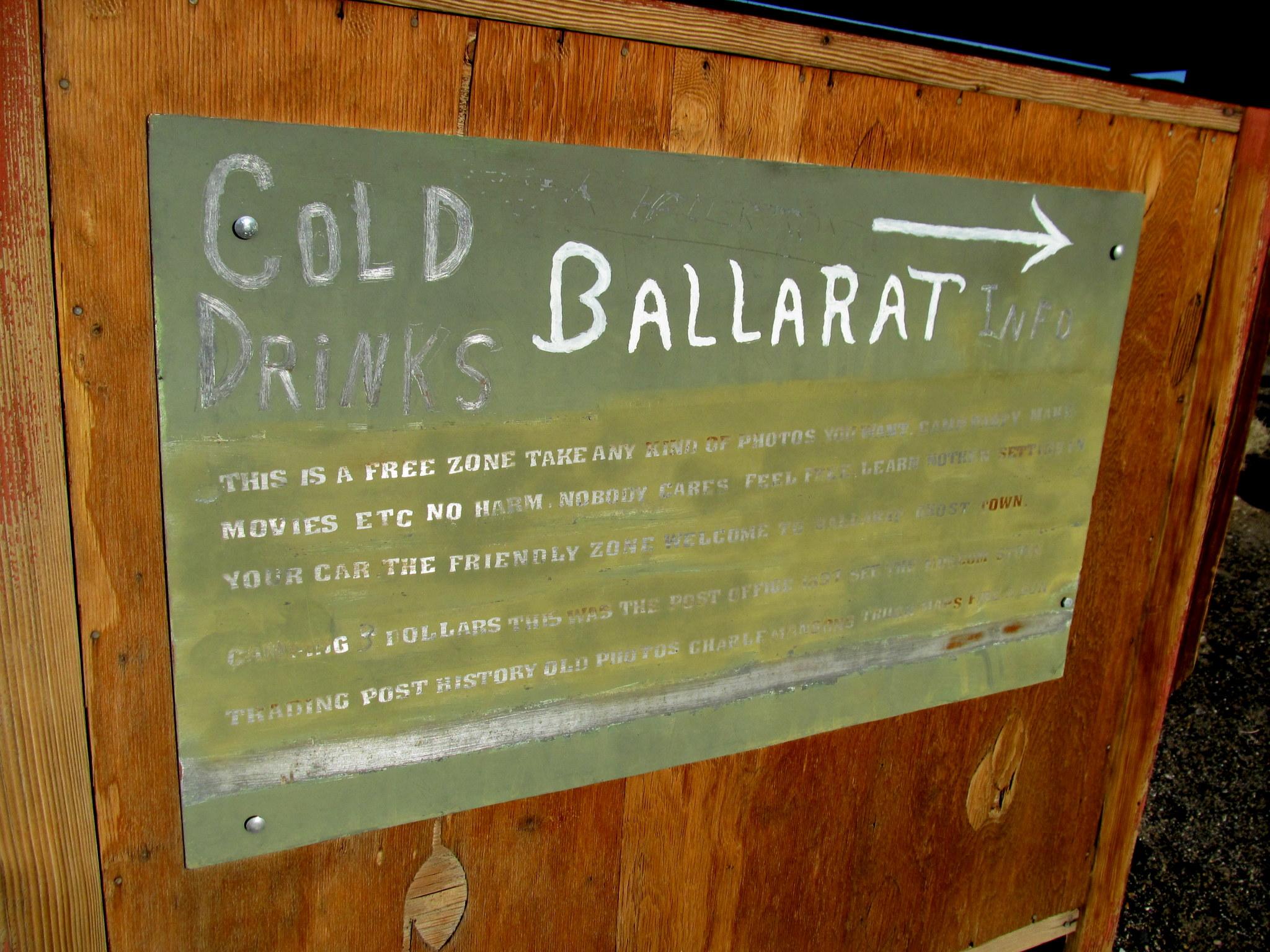 Photo: Ballarat sign