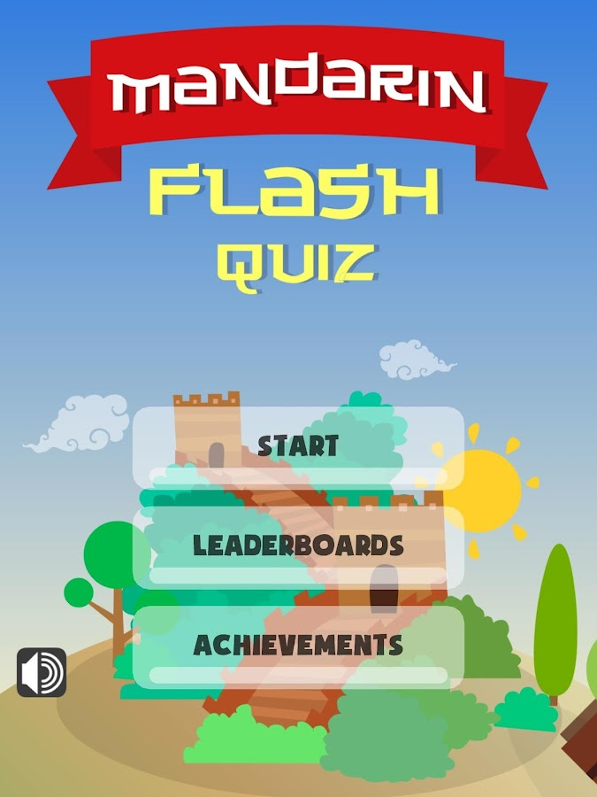Chinese Mandarin Flash Quiz- screenshot