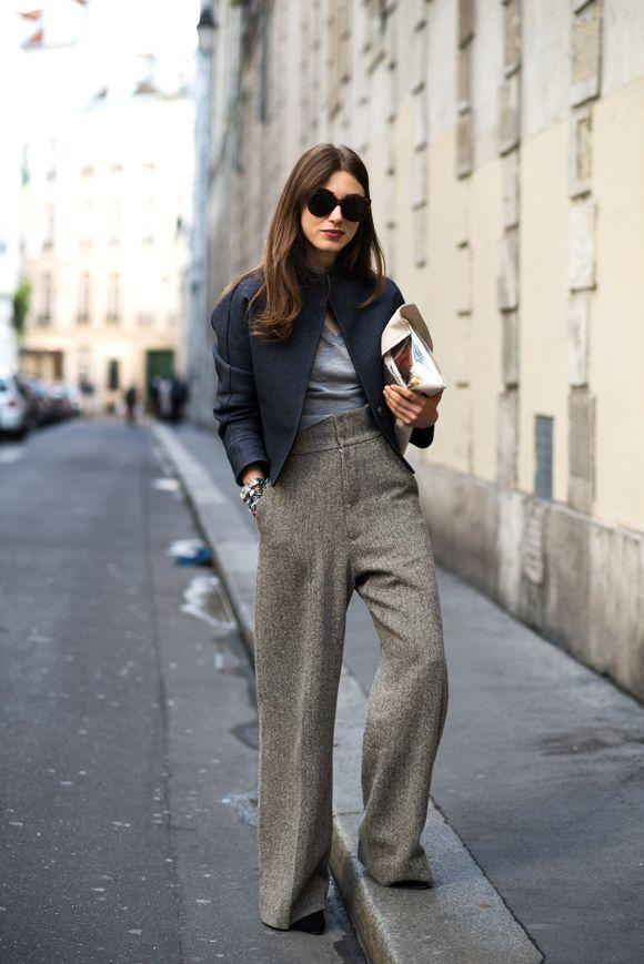 35 Ways to Wear Wide-Leg Pants This Winter   Fashion, Street style, Style