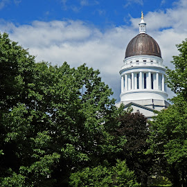 Maine State Capitol by Don Bates - Buildings & Architecture Public & Historical