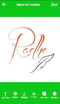 Name Art Creator - screenshot thumbnail 06