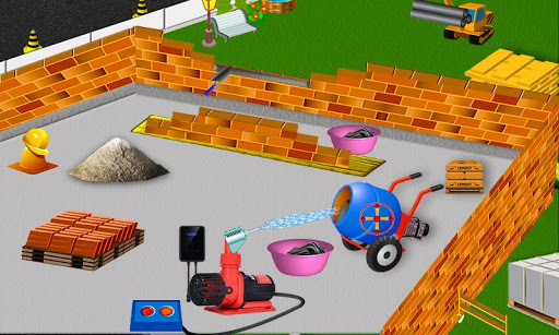 School Building Construction Site: Builder Game modavailable screenshots 8