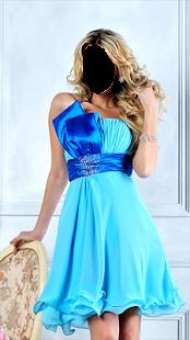 Girl Evening Fashion Photo Montage - náhled