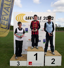 Photo: Jack Ryan, winner of Boys U/12 Shot Putt at Leevale Sports 2012