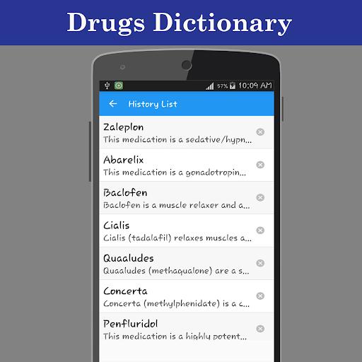 Drugs Dictionary Offline  screenshots 4