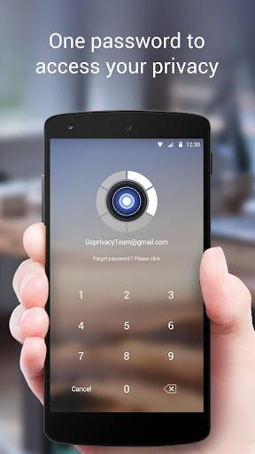 GO Privacy - Encrypt Password