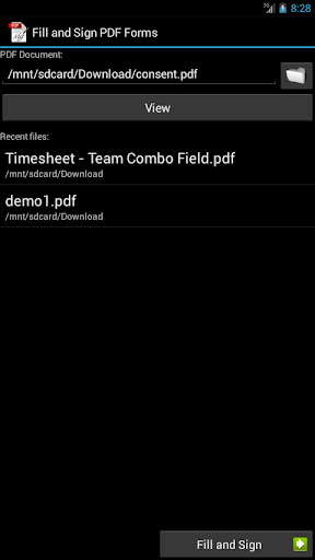 Fill and Sign PDF Forms 4.5.1 Apk for Android 2