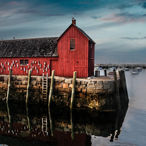 The Motif by Tracy Riedel-Dorsch - Landscapes Waterscapes ( massachusetts, rockport )