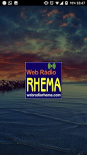 Web Rádio Rhema- screenshot thumbnail