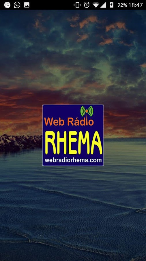 Web Rádio Rhema- screenshot
