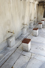 Photo: Washing area before entering Mosque
