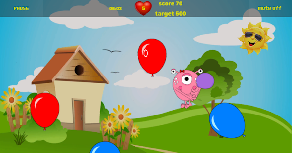 Super Balloon Pop Game - náhled