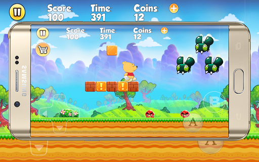 Winie Sboy World the Pooh game (apk) free download for Android/PC/Windows screenshot