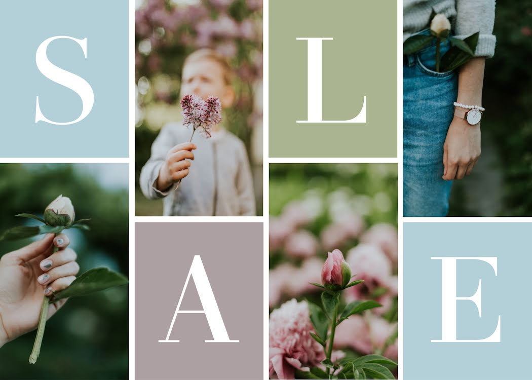 Sale Collage - Photo Card Template