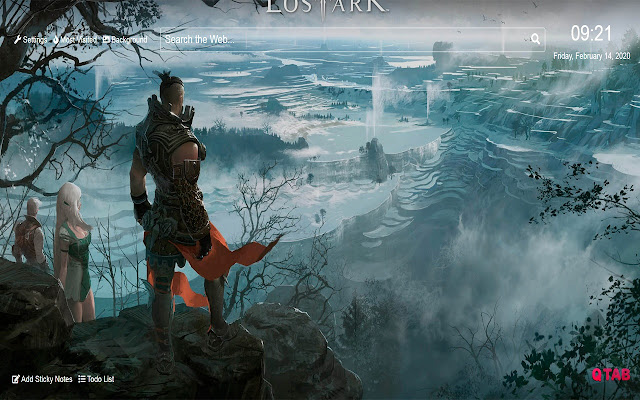 Lost Ark Wallpaper for New Tab