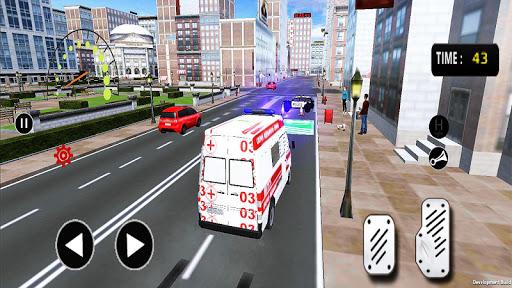 City Rescue Ambulance Emergency Simulator 1.0 screenshots 1