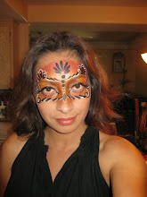 Photo: Maria painted her own face here, book her by calling: 888-750-7024http://www.memorableevententertainment.com/FacePainting/MariaChino,Ca.aspx