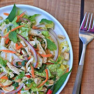 Goi Ga- Vietnamese Spicy Chicken and Cabbage Salad