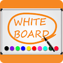 Whiteboard - Easy Draw & Paint Board Free icon