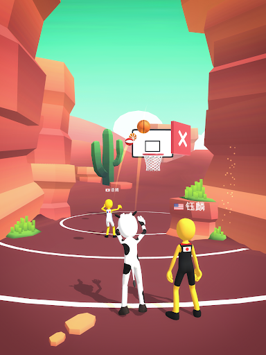 Five Hoops - Basketball Game 17 screenshots 15