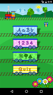 Letters Train Screenshot