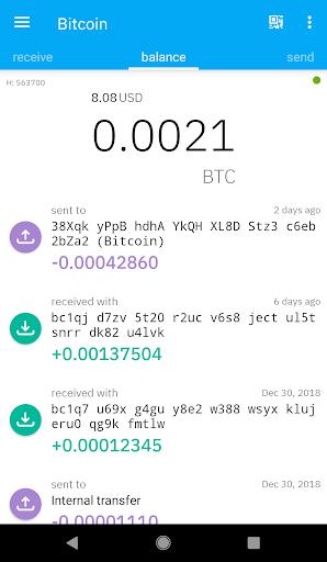 Coinomi Wallet :: Bitcoin Ethereum Altcoins Tokens screenshot