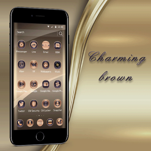 Silk Gold Icons Theme