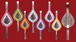 มังกรทองมาแว้วววว เข็มกลัดหลวงพ่อเงิน อายุ 84 ปี สร้างปี 2517 (หายากส์) วัดดอนยายหอม มาครบชุด 7 อัน 7 สี