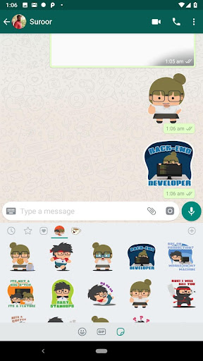 Geeky Stickers for WhatsApp  image 1