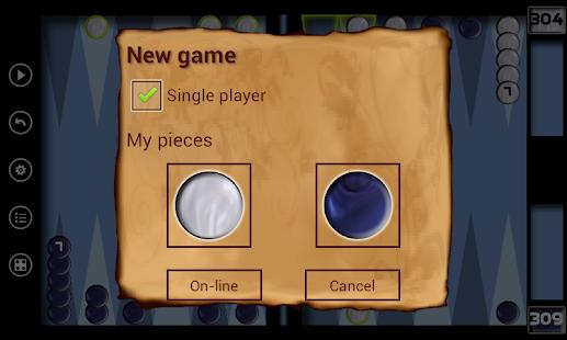Narde - Backgammon Ekran Görüntüsü