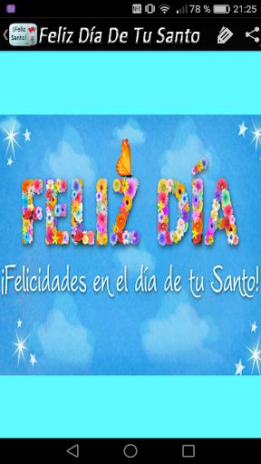 Feliz Dia De Tu Santo Apps On Google Play