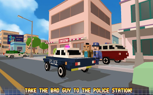 Blocky City: Ultimate Police