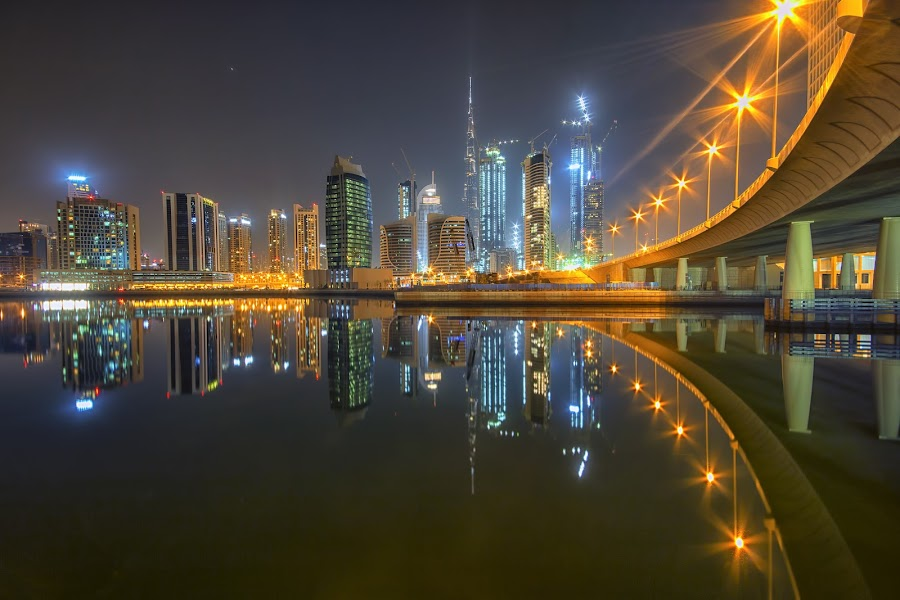 by Ricky Pagador - City,  Street & Park  Skylines ( cityscapes, buildings )
