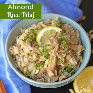Almond Rice Pilaf.
