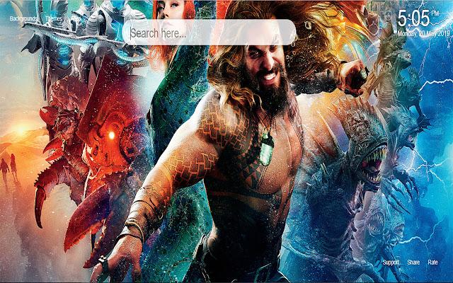 Aquaman HD Wallpapers New Tab